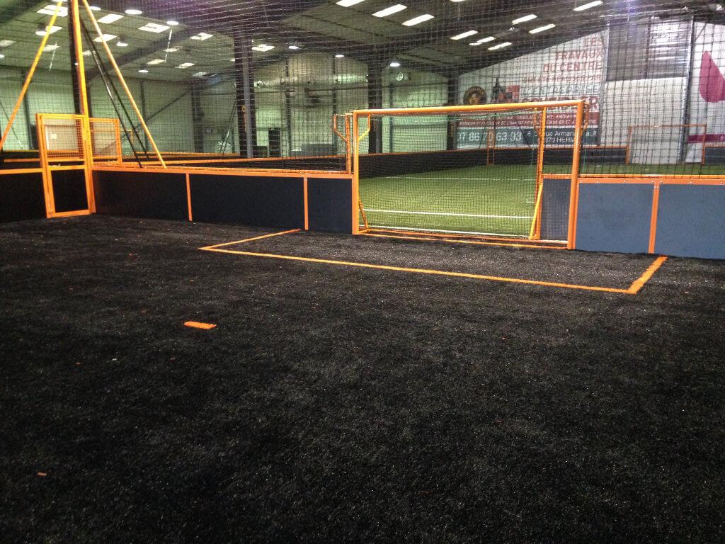 Poseur de terrain Futsal