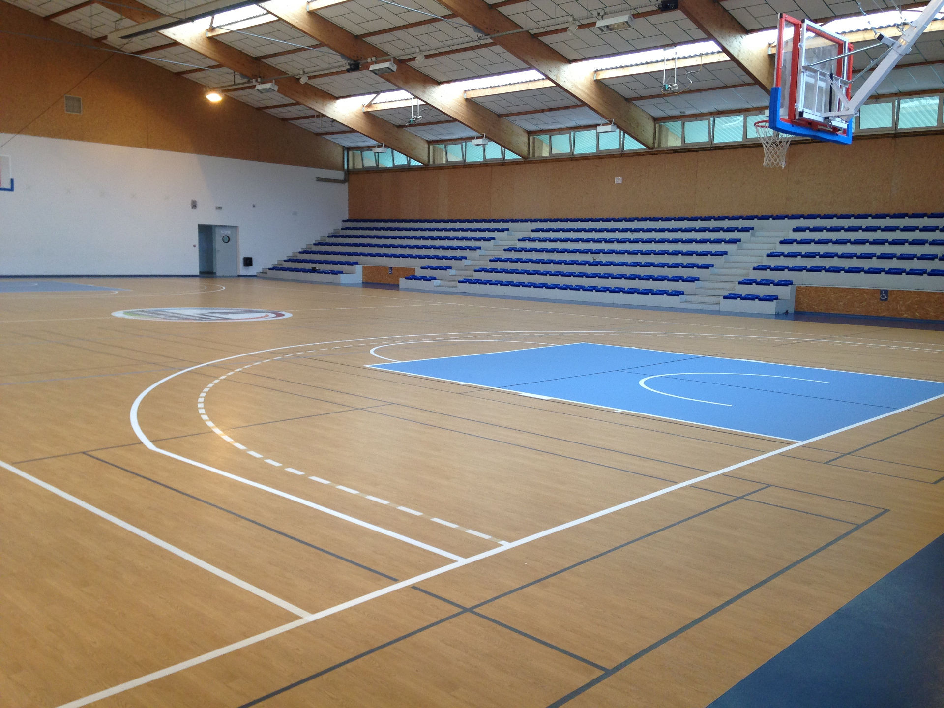 Fabrication terrain de basket