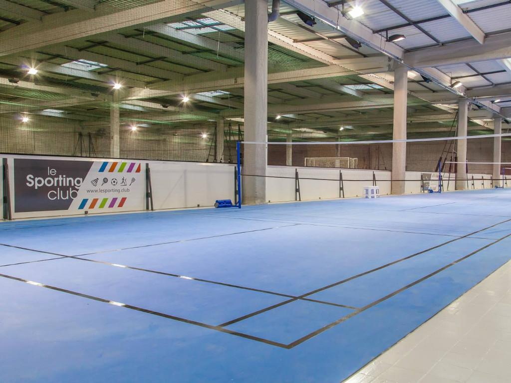 pose terrain badminton