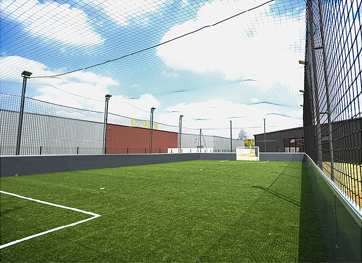 terrain de foot outdoor