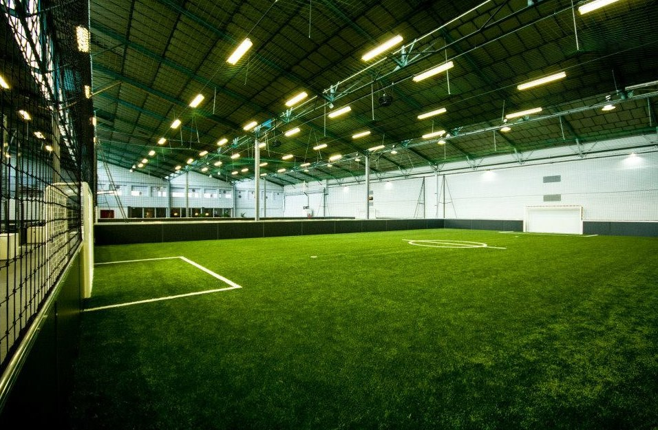 Terrain de foot indoor