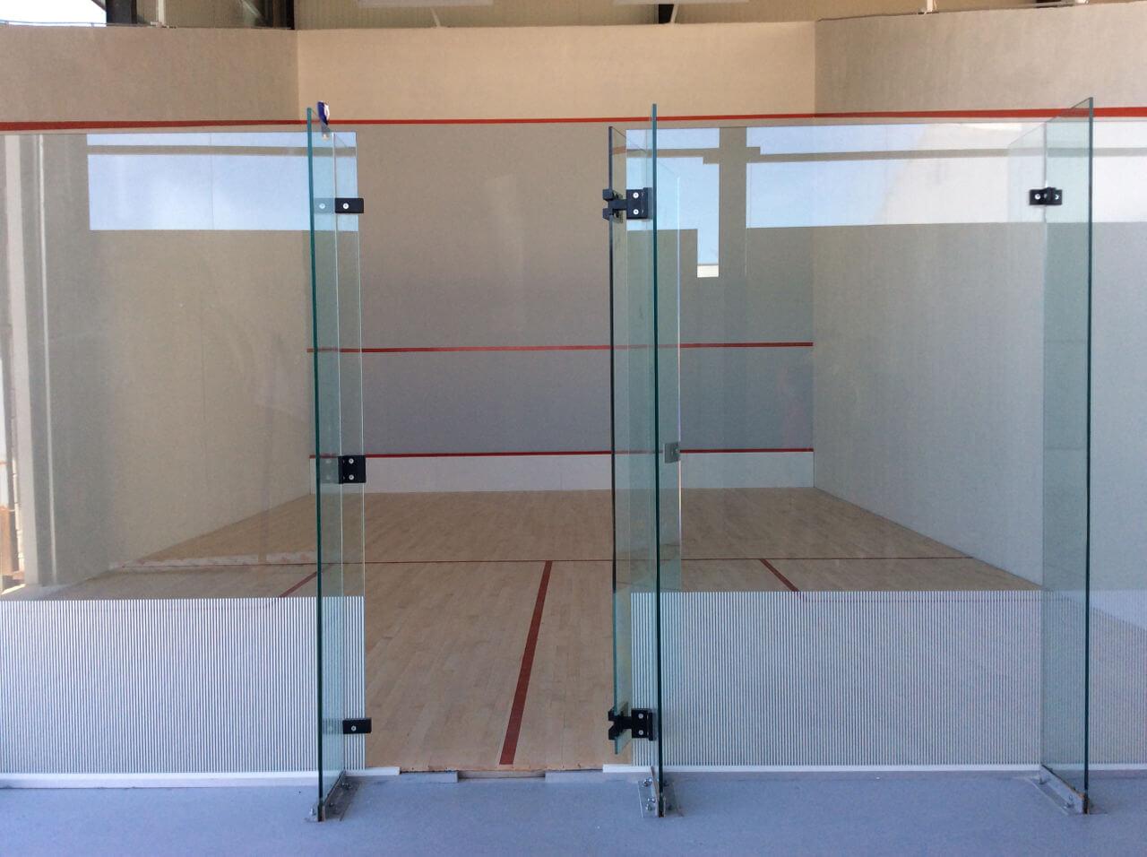 fabrication de terrain de squash
