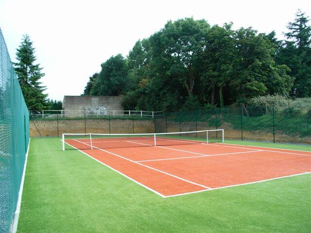 Création de terrain tennis