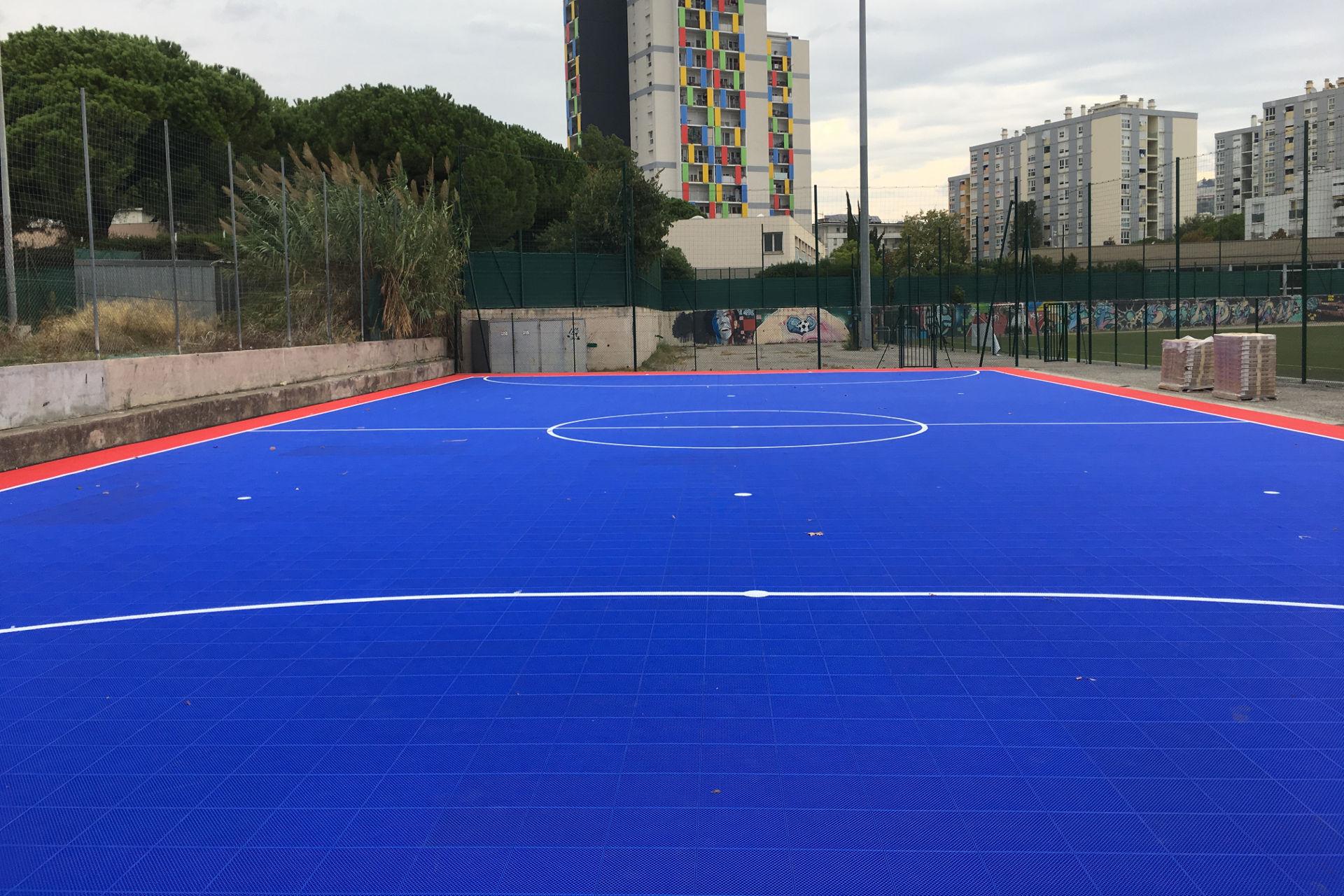 fabrication de terrain de Futsal