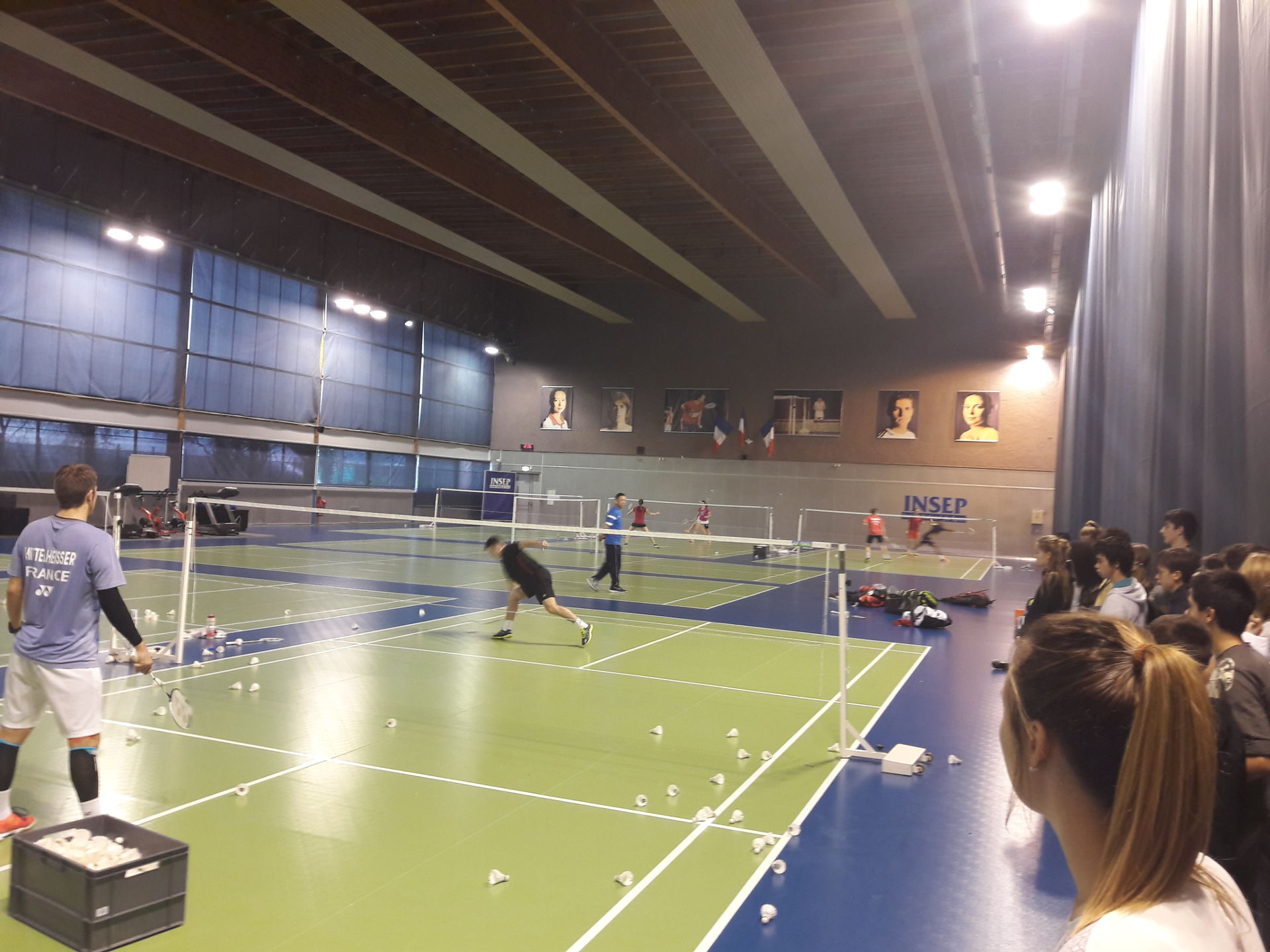 Pôle national de Badminton INSEP