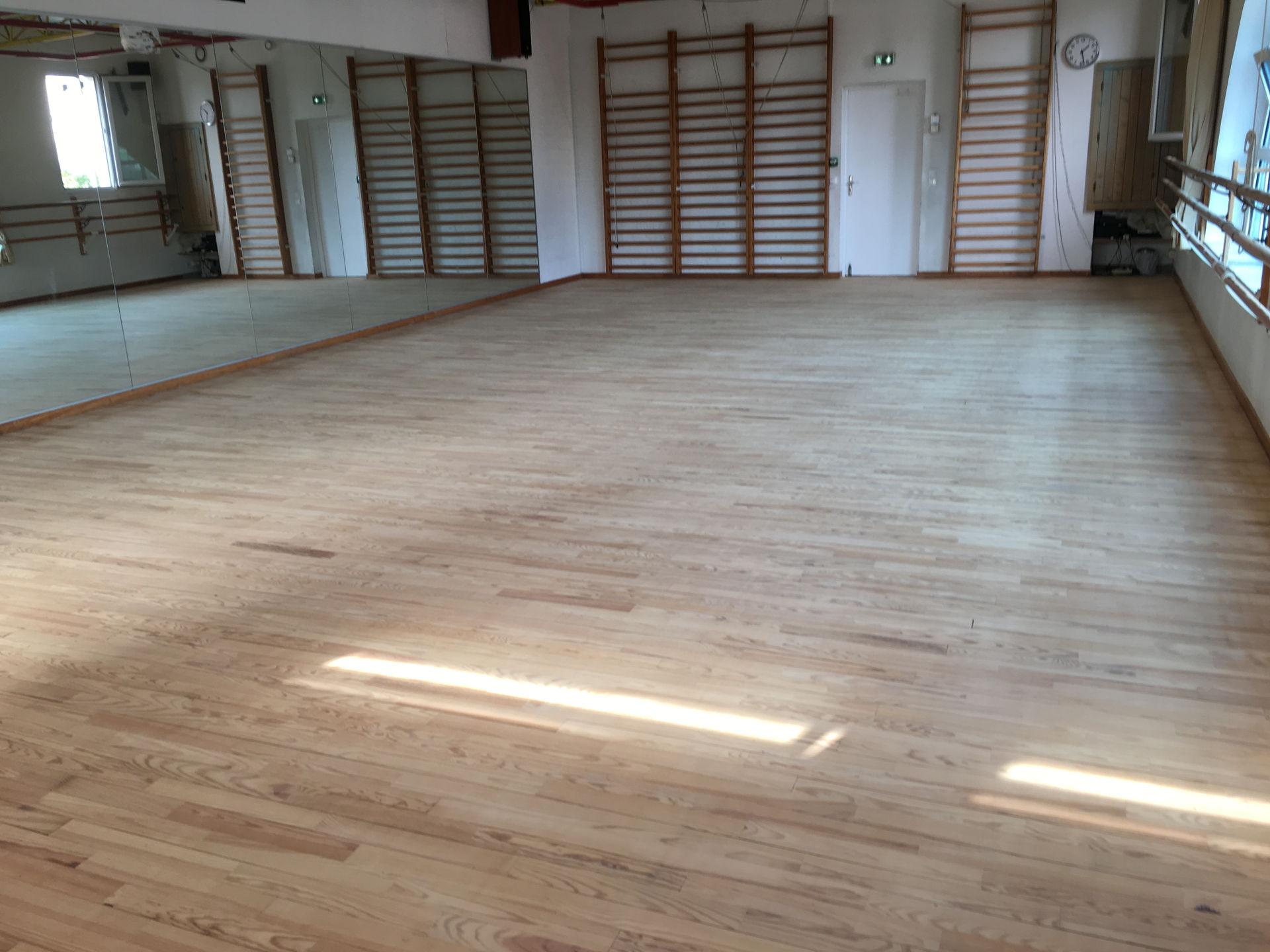 Réfection salle de danse Saint-Jean de Vedas