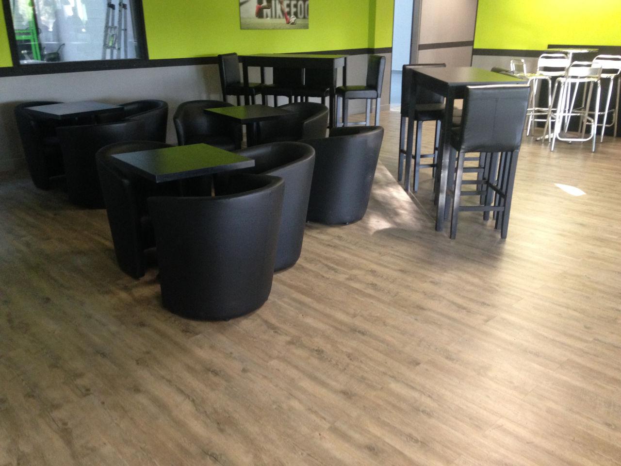 Parquet salle restaurant