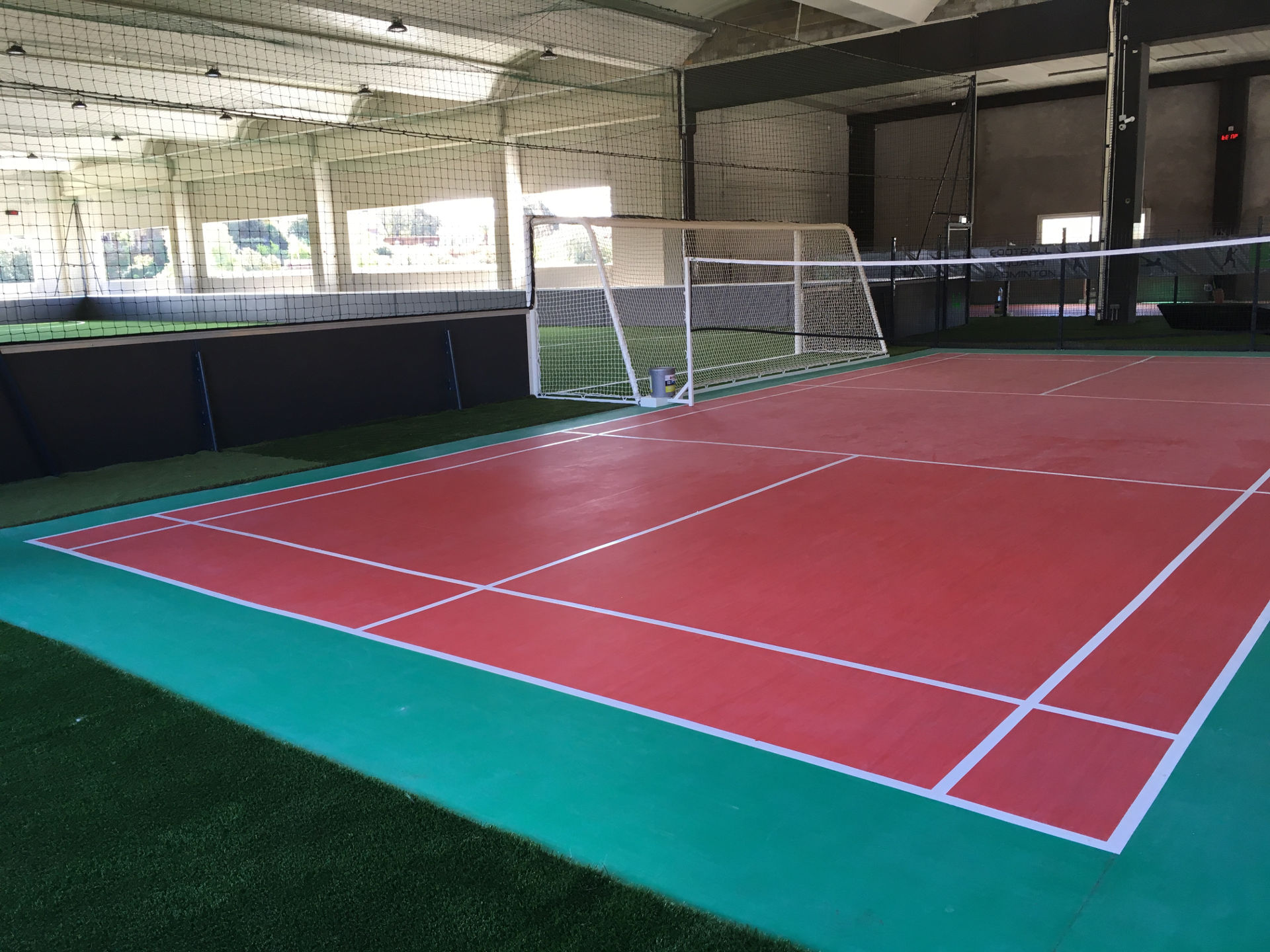 Fabrication terrain de badminton Ajaccio