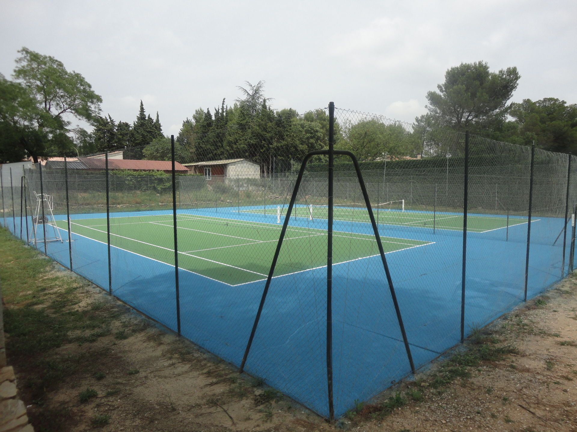 Conception terrain de tennis