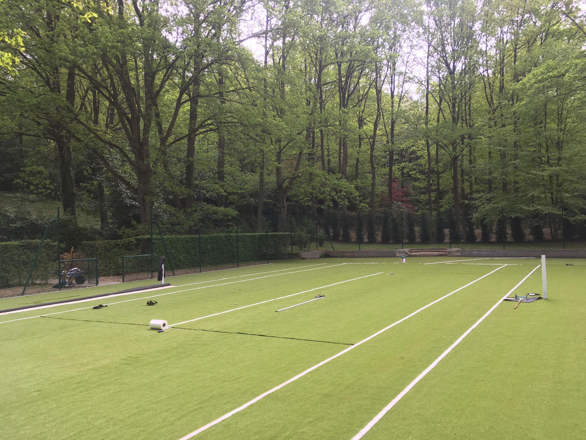 Fabricant terrain de tennis