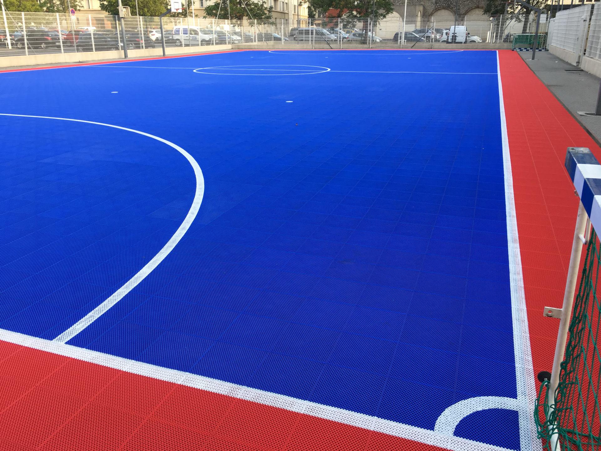 Création terrain Futsal outdoor Toulon