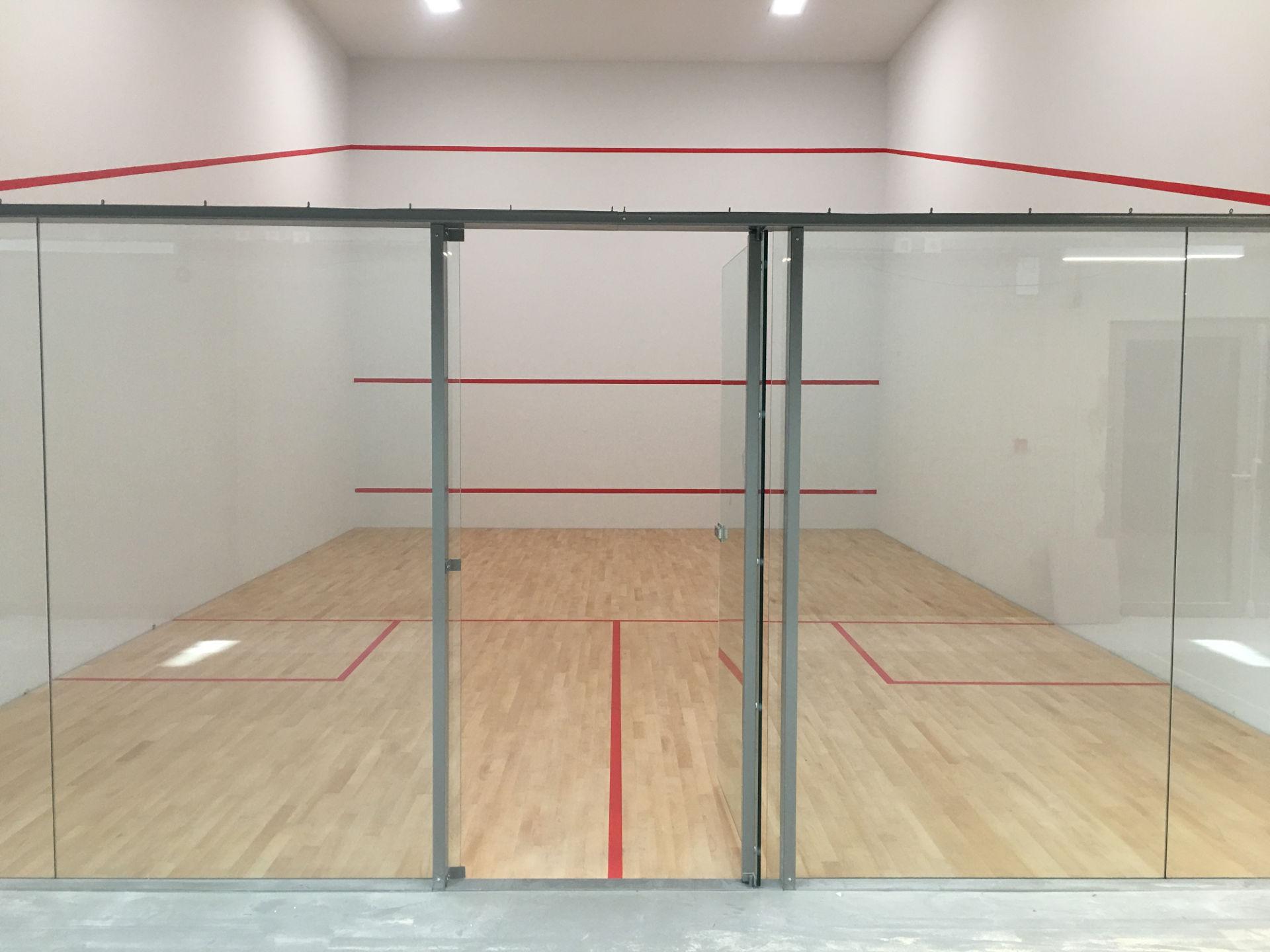 Création terrains de squash à Torcy