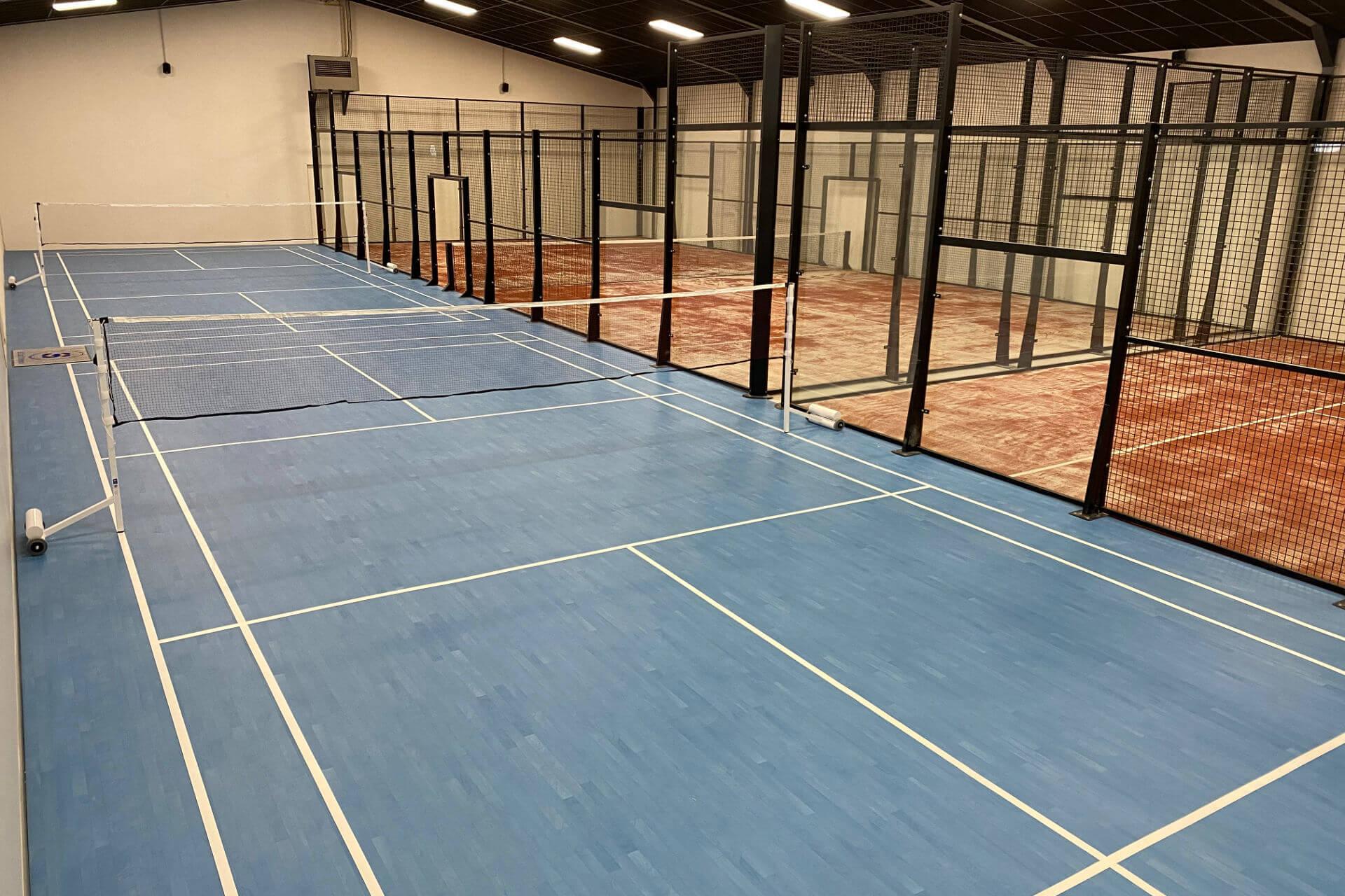 construction terrain badminton Aurillac