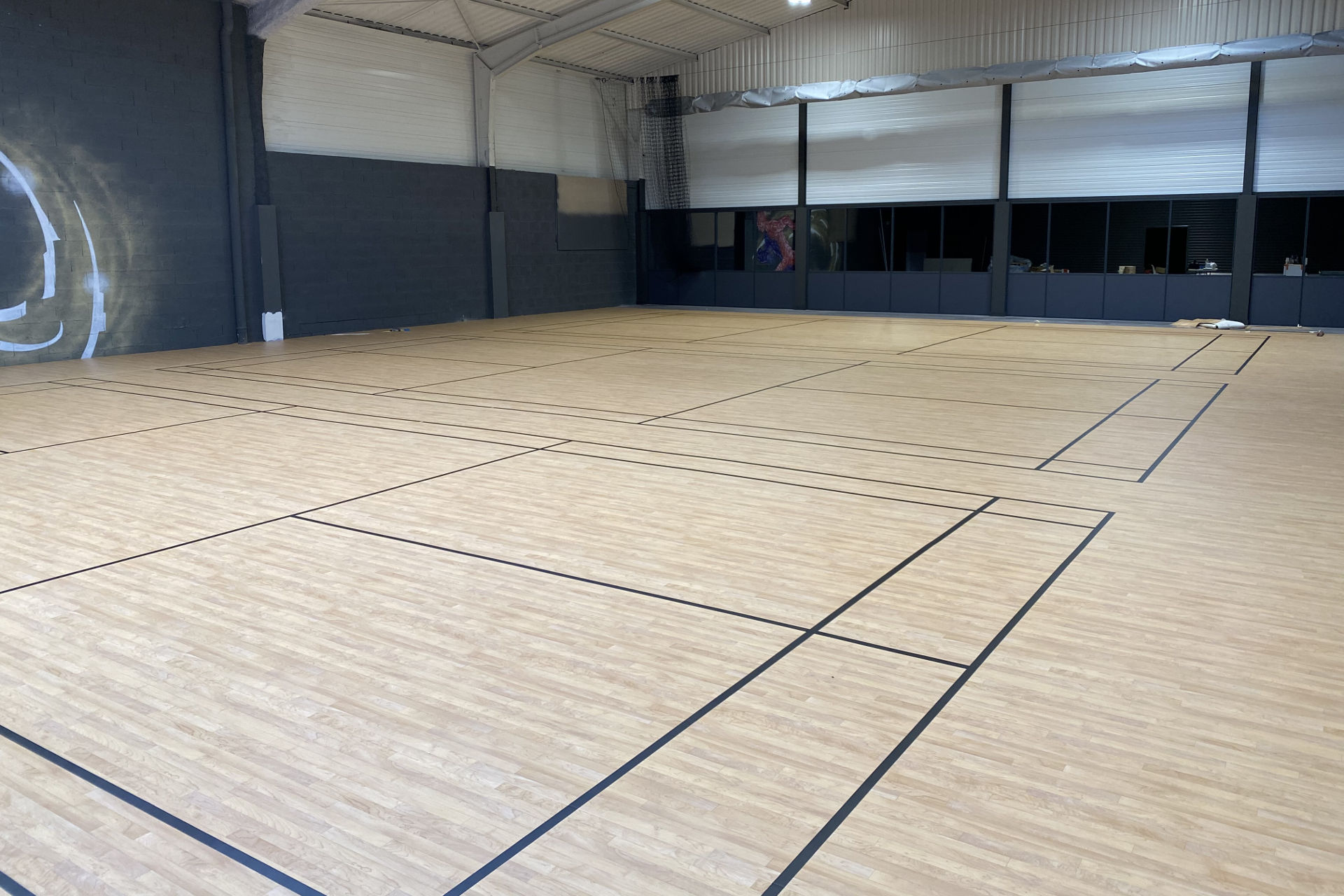 Terrain de badminton isère